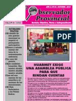 Observador Provincial - Octubre 2012