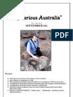 Mysterious Australia Newsletter - September 2011