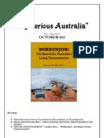 Mysterious Australia Newsletter - October 2011 - Part 1