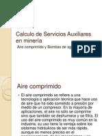 Calculo de Servicios Auxiliares