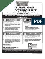 CharBroil NG Conversion Kit 4984619
