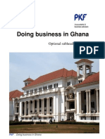 Doing Business Ghana