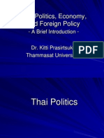 Thai Politics, Economy and Foreign Policy