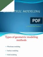 Geometric Modeling (Glad)