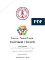 Assignment 2_Creativity_Stanford Online Course
