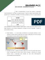 Modelo atômico de Bohr e diagrama de linus Pauling