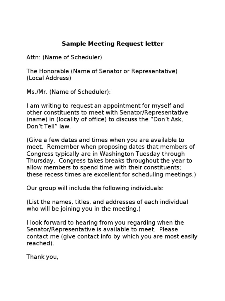 Sample Letter For Meeting Request from imgv2-2-f.scribdassets.com