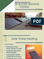 Soler Water Heating