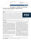 The Village Telco Project - A Reliable and Practical Wireless Mesh Telephony Infrastructure
