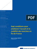 Tourisme Mobilite Ile de France Dem1112