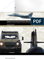 Defence Procurement Manual