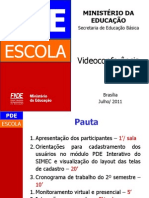 Pde Escola 2011 Videoconferencia Jul2011 V2