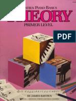 03371 - Bastien, J. - Theory (Primer Level Bastien Piano Basics)