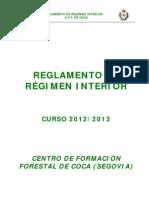 Reglamento de Régimen Interior