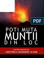 Poti Muta Muntii Din Loc NLP Mania1