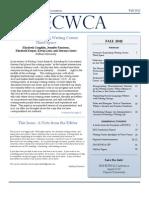 Ecwca Newsletter Fall 2012revised