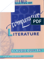 [Claudio Guillen] the Challenge of Comparative Lit