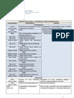 Calendário VDC Formação Continuada 2012