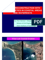 Tsunami Reconstruction With Geo Synthetic