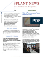 Akron-Canton TRIO September 2012 Newsletter