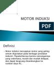 Motor Induksi