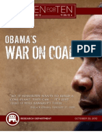 "Obama's War On Coal - RNC ""Ten For Ten"" eBook Series"