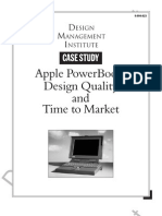 Apple Powerbook Design Quality & Time to Market 994023-PDF-EnG