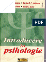 atkinson - introducere in psihologie