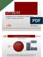 Estadisticas IMSS Septiembre 2012