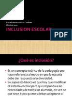 Inclusion Escolar