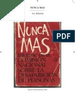 Nunca mas - 1ra. edición
