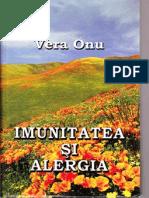Imunitatea Si Alergia_Onu V.