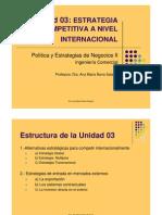 Estrategia Competitiva Internacional