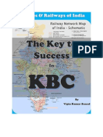 The Key to Success in KBC - Part 4 - Airlines, Railways in India