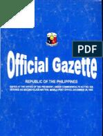 SOL Official Gazette Au18,20080001