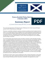 Franco Scottish Seminar