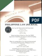 Sol Phil. Law Jl s20070002