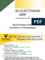 Proceso de Electividad 2009