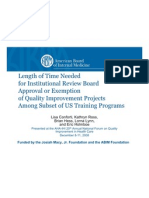 Length of Time Needed