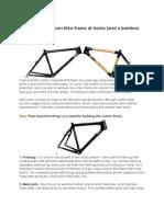 Bamboo Bike Project
