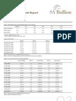The SA Bullion Gold Report Q3 2012 555