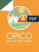 Opico-Valle de San Andrés, la marca de un destino turístico sostenible.