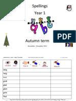 Autumn Term 1_2 Year 1