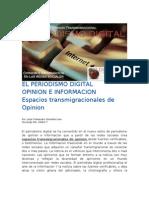 El Periodismo Digital Espacios Transmigracionales de Opinion