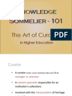 Knowledge Sommelier 101 - The Art of Curation in Education