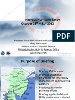 Noon Monday Sandy Briefing
