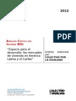 Análisis Informe BID