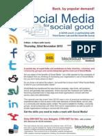 Social Media for Social Good 1