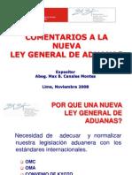 Comentarios a La Nueva Ley General de Aduanas (1)