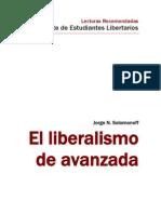 El Liberalismo de avanzada - Jorge N Solomonoff